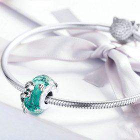 Mermaid Enhanced Glass Charm