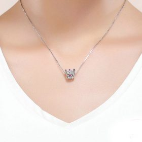 Queen's Crown CZ Charm