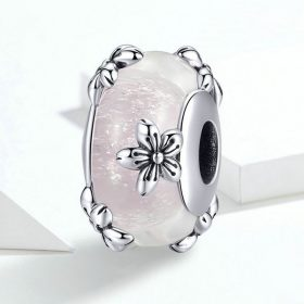Sakura Enhanced Glass Charm