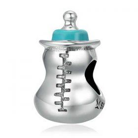 Baby Bottle Enamel Charm