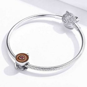 Coffee Lovers CZ Charm