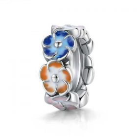 Colourful Hydrangea Spacer Charm