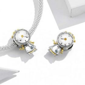 Magic Clock CZ Charm