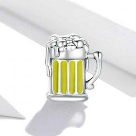 Beer Tankard Enamel Charm