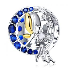 Blue Moon Fairy Charm