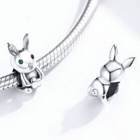 Bunny Love CZ Charm