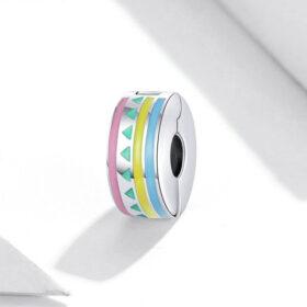 Colourful Stripes Clip