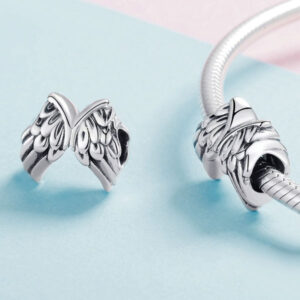 Vintage Angel Wings Charm